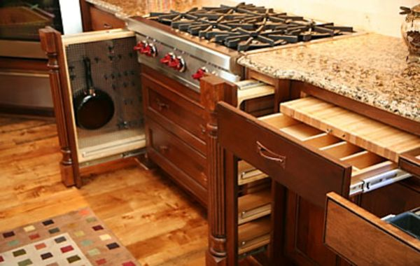 Kitchen Cabinets And Drawers Cabinet With Only