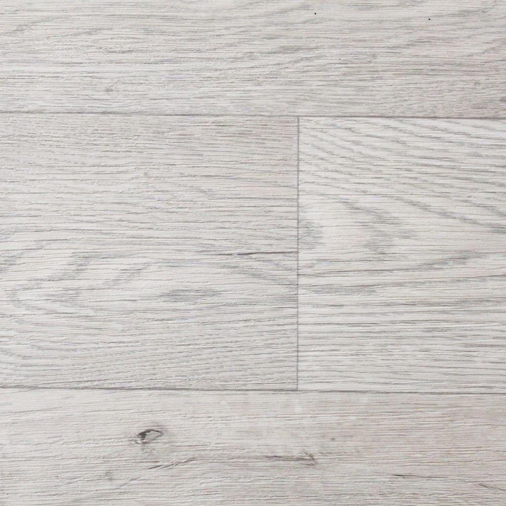 Details about White Beige Wood Non Slip Vinyl Flooring