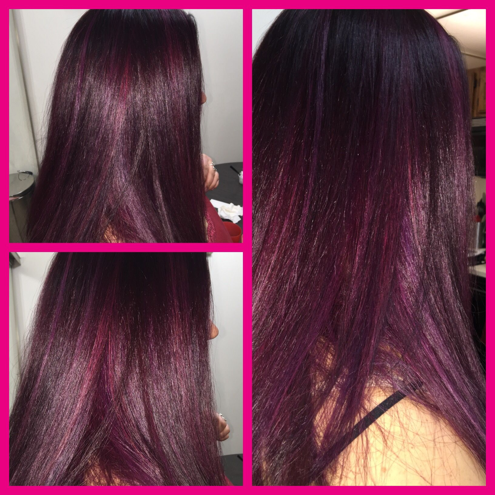 Joico color intensity wella burgundy hair pink and purple ...