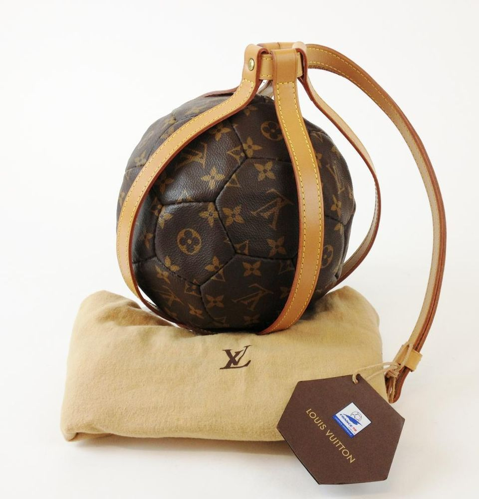e9d4c822e064 Louis Vuitton Monogram Limited Ed. World Cup France 1998 Soccer Ball and  Carrier