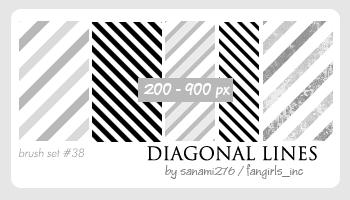 Diagonal Lines By Sanami276 On Deviantart Diagonal Line Free Photoshop Line Patterns
