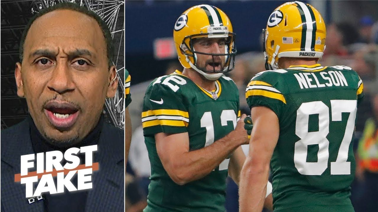 Aaron Rodgers Should Never Be Criticized By Former Teammates Stephen A First Take Aaron Rodgers Basketball News Criticism