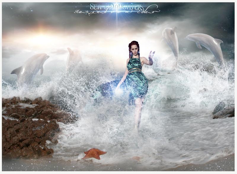Sea's Daughter by RazielMB.deviantart.com on @deviantART