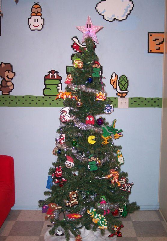 071214tree.jpg   Christmas   Pinterest   Nintendo, Christmas tree ...