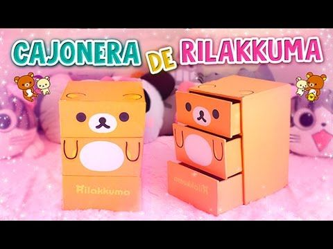 Photo of DIY KAWAII ☆ HAZ UNA CAJONERA / ORGANIZADOR DE RILAKKUMA DE CARTÓ
