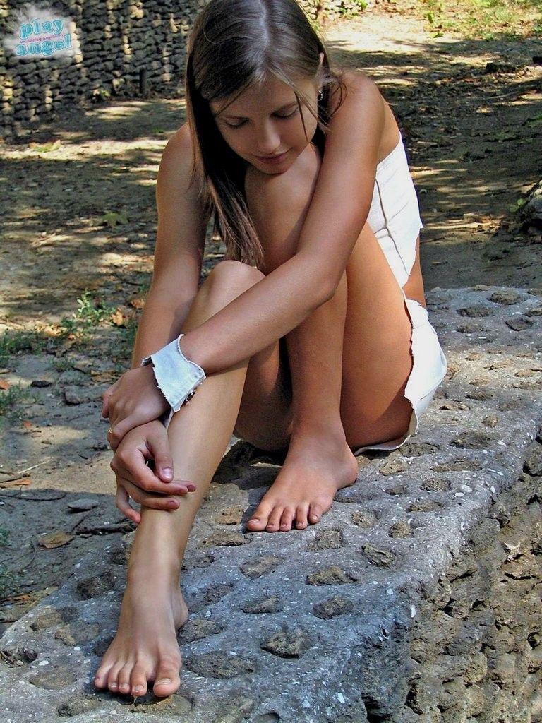 Young Sweet Teen Feet