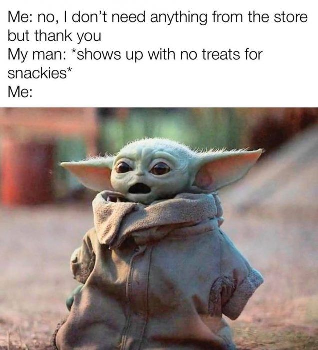 33 Baby Yoda Memes Because He S The Best Thing Since Porgs Yoda Funny Yoda Meme Funny Star Wars Memes