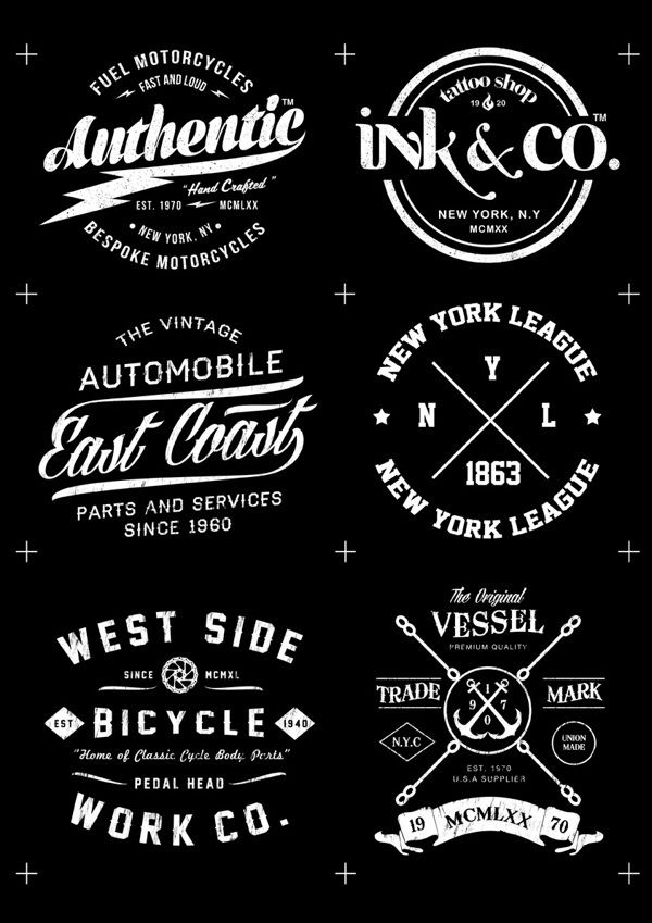 Badge/crest logos / T Shirt Sketches on Behance | Logos | Pinterest ...