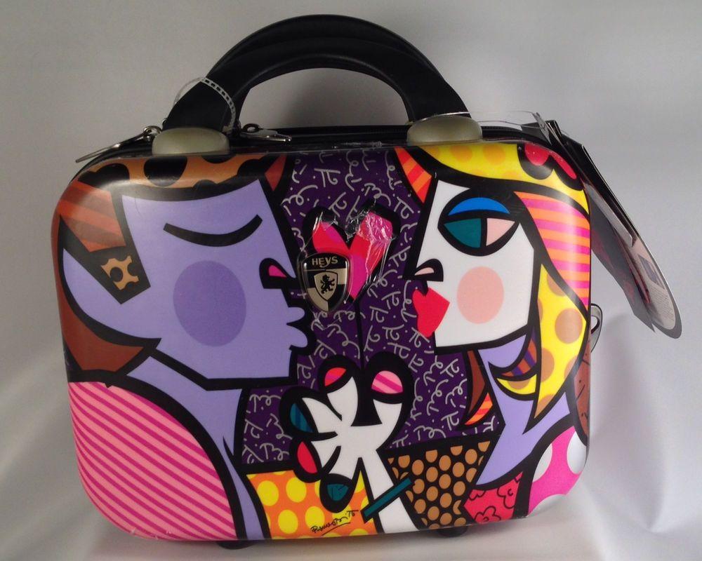 2163de5ef060 ROMERO BRITTO Cosmetic/Travel Case/Heys USA - NEW! The Kiss #Britto ...