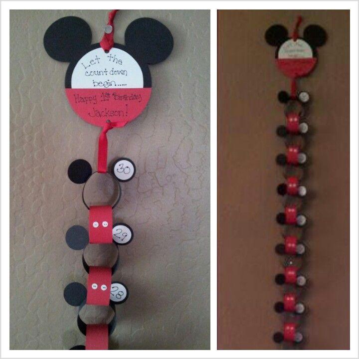 Verrassend Disney aftelkalender! | Disney knutselen, Aftelkalender, Disney CJ-43