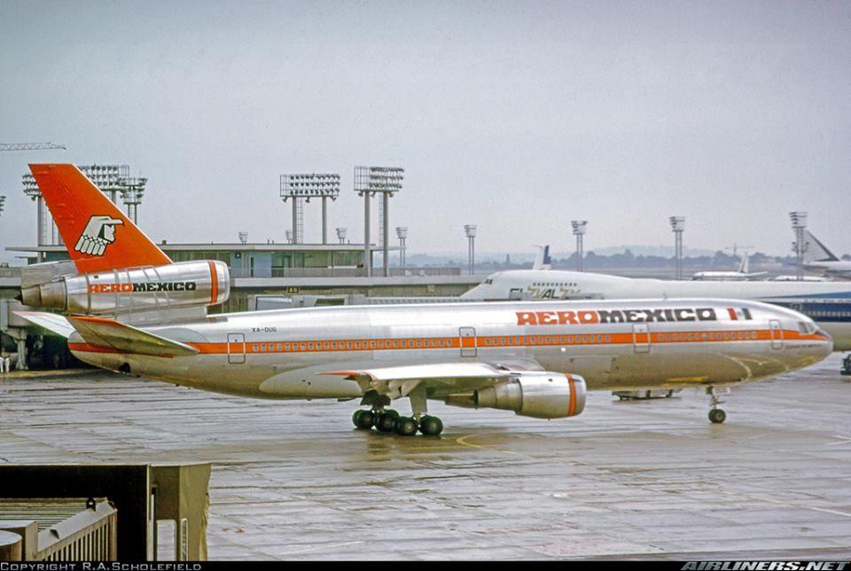 un clasico Aeromexico | Avión | Pinterest | Clasicos, Avión y ...