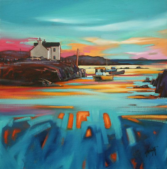 I M A Huge Fan Of Contemporary Scottish Landscape Artist Scott Naismith Scottish Art Art Art Painting