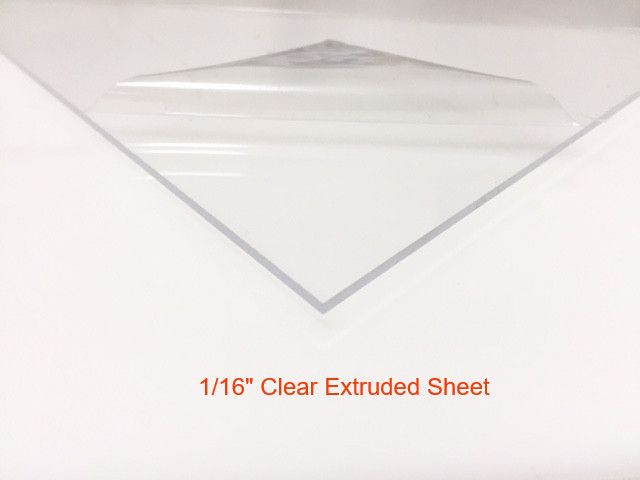 12 X 24 1 16 Thick Clear Plexiglass Extruded Sheet Plexiglass Sheets Clear Acrylic Acrylic Sheets