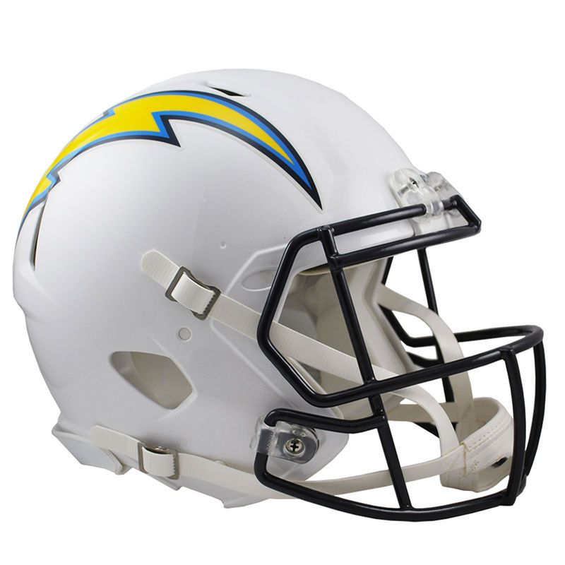 e786adfc396 Riddell Los Angeles Chargers Revolution Speed Full-Size Authentic Football  Helmet