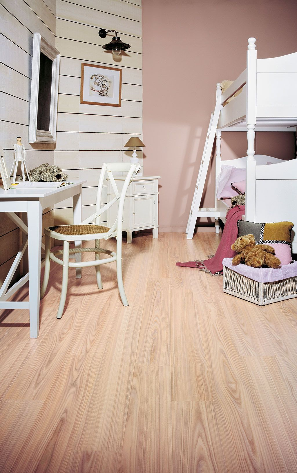 QuickStep Perspective 'White ash' (UL1184) Laminate