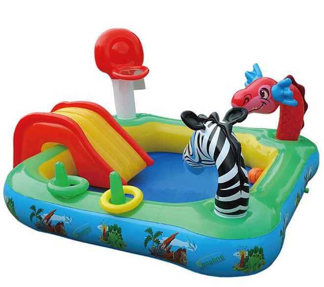 Toddler Inflatable Pool W Slide