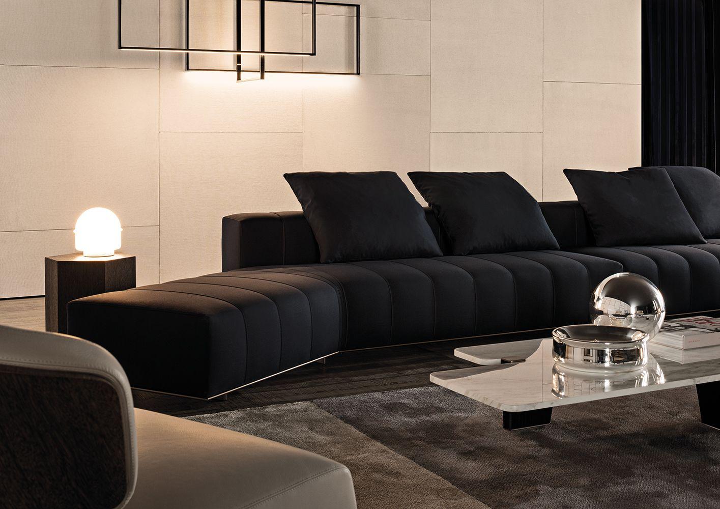 Minotti Ipad Freeman Lounge Sofas En Lounge Sofa Sofa Price Living Room Spaces