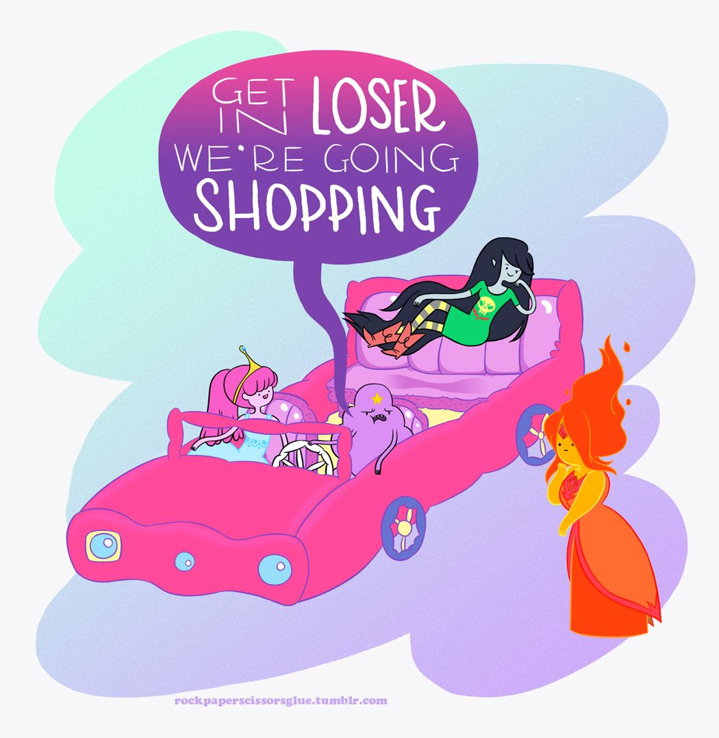 Adventure Time and Mean Girls mashup