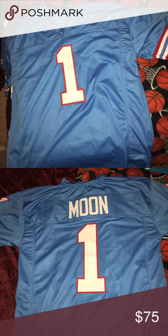 edc0fa07 Houston Oilers Warren moon Jersey! Hall of fame Houston Oiler Warren Moon  Jersey! Brand new never worn. Other