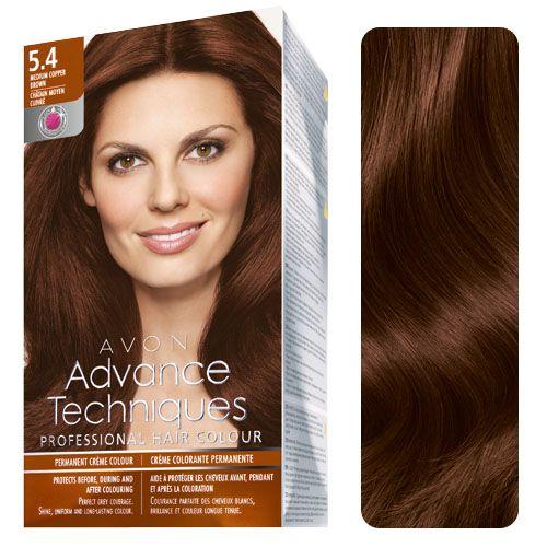 Avon Advance Techniques Professional Hair Colour 5 4 Medium
