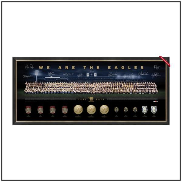 WE ARE THE EAGLES - DELUXE EDITION $995.00 #westcoasteagles #signed #memorabilia #medals