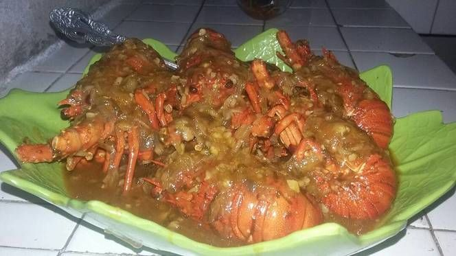 Lobster Saus Padang No Msg Recipe In 2020 Food Food Drink Padang