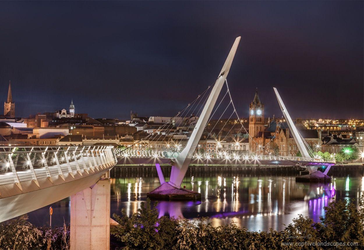 Photograph Peace Bridge by Stephen Emerson,Ireland