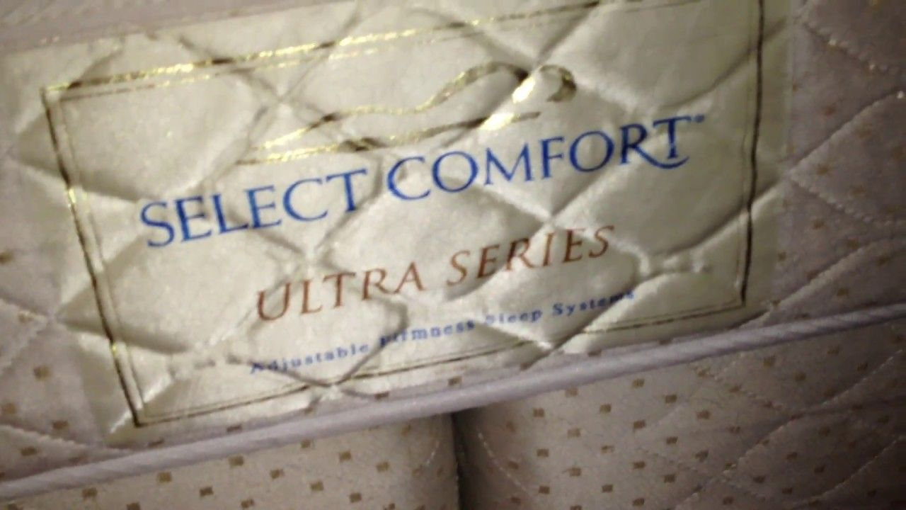 assemble a used select comfort or sleep number air mattress