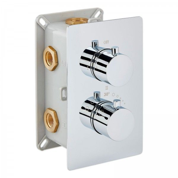 Unterputz Armatur edle thermostat unterputz duscharmatur up12 01 mit 3 wege umsteller