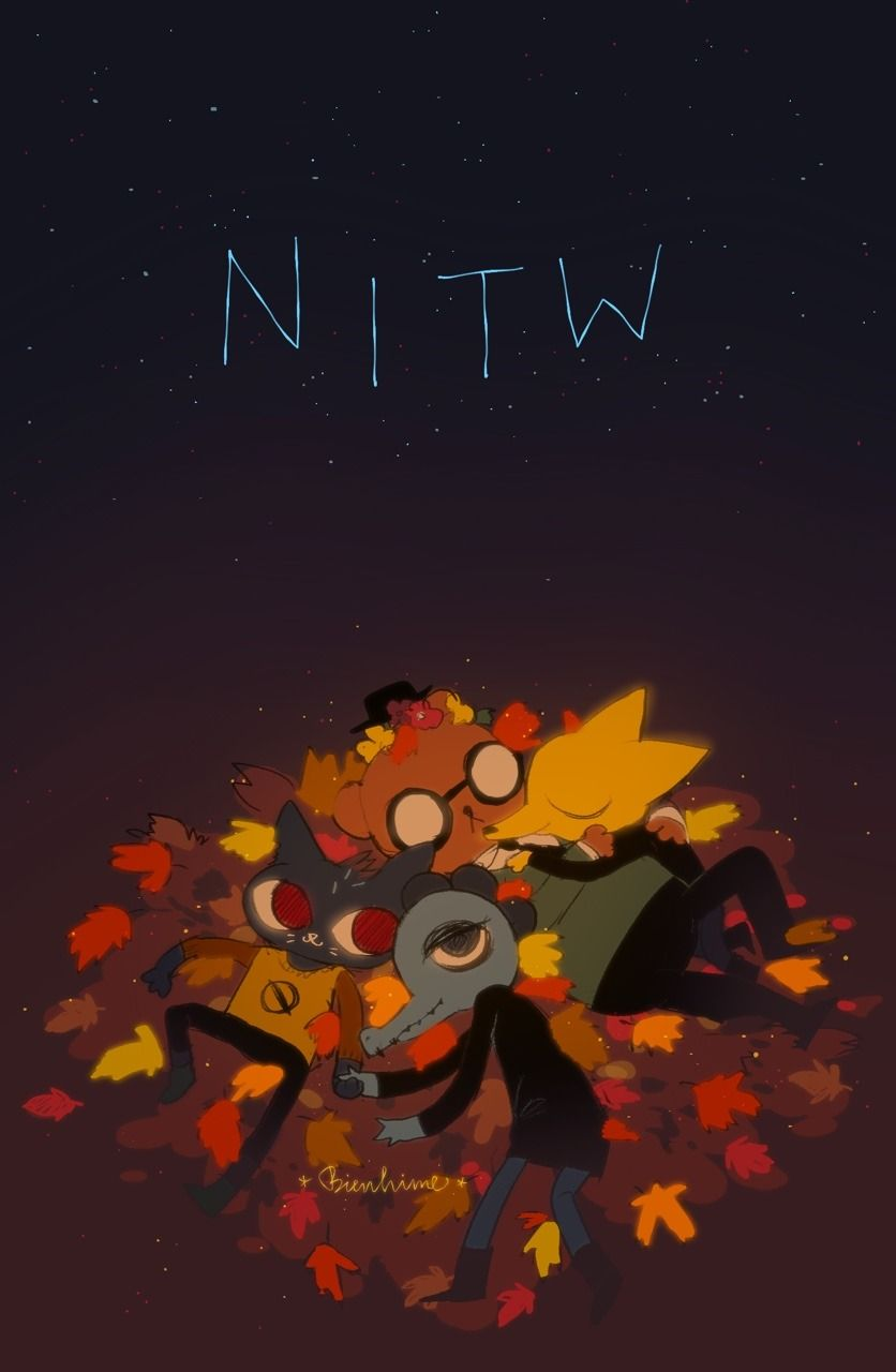 Nitws By Marishiza In 2020 Night In The Wood Furry Art Sketch Book