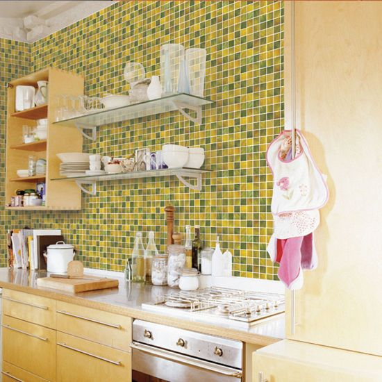 Tile Effect Self Adhesive Wallpaper Vinyl Roll Contact