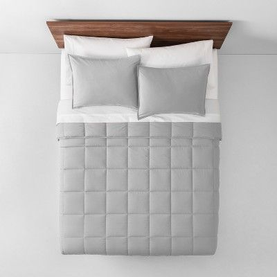 Light Gray Solid Down Alternative Comforter Full Queen Made By Design Size Twin Extra Long Patterned Sheets Down Comforter Comforters