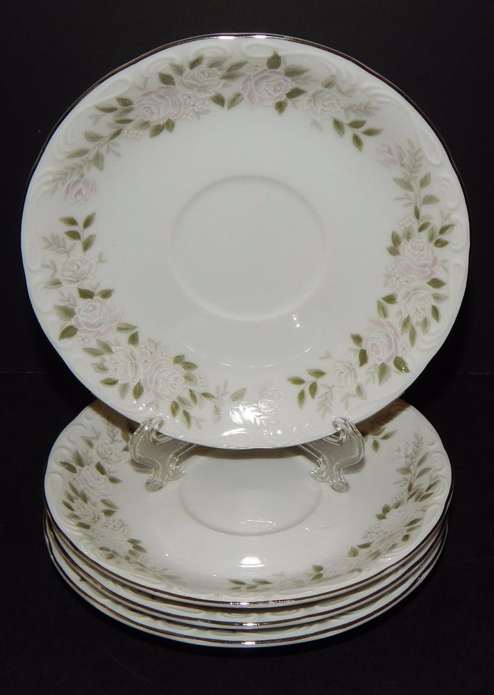 40 Sheffield Fine China Classic 40 Japan Saucers Floral Pattern Awesome Fine China Patterns