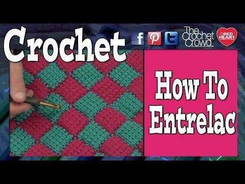 Tunisian Crochet Entrelac: Part 1 - YouTube | Crochet Patterns ...