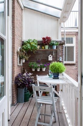 "An ""XXL Cross-Stitch"" Artist's Vibrant Dutch Home – All About Balcony"