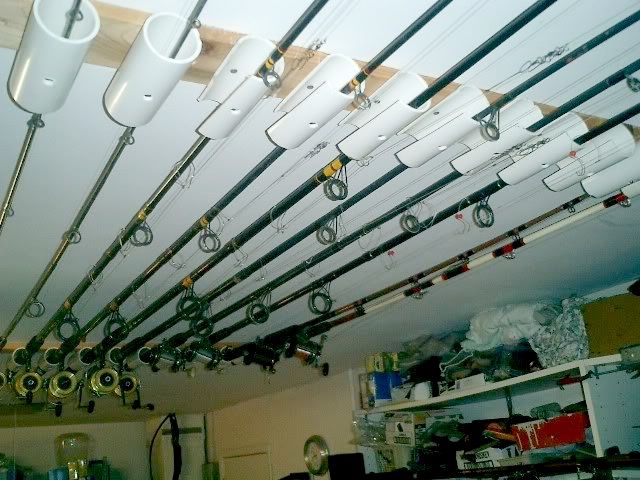 How To Store Fishing Rods In Garage Pvc Hacks For Your