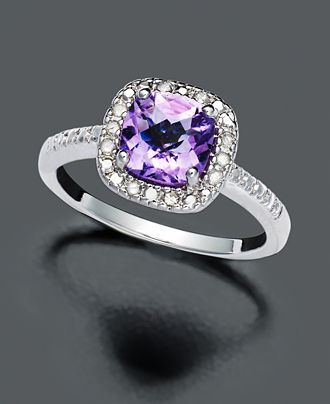 a purple diamond, beauty, not a fan of the cut though, colour to due for