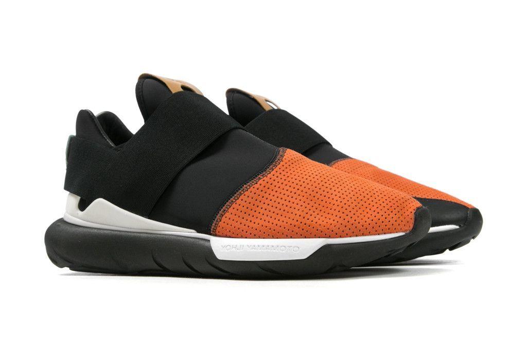 adidas Y 3 Qasa II Low Black Orange