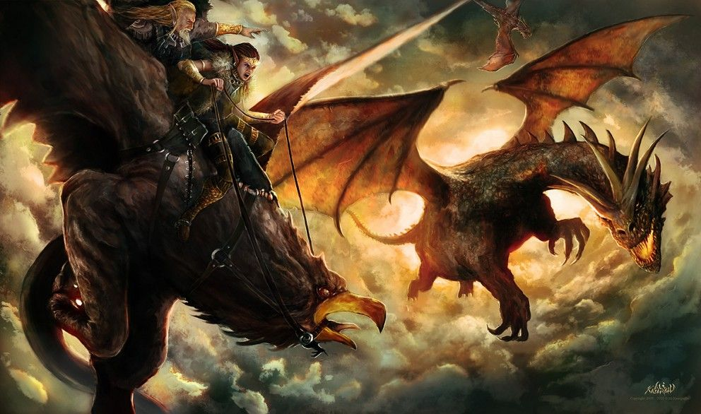 Fantasy: No Escape - 2D Digital, Concept art, Digital paintings, Fantasy, PhotoshopCoolvibe – Digital Art