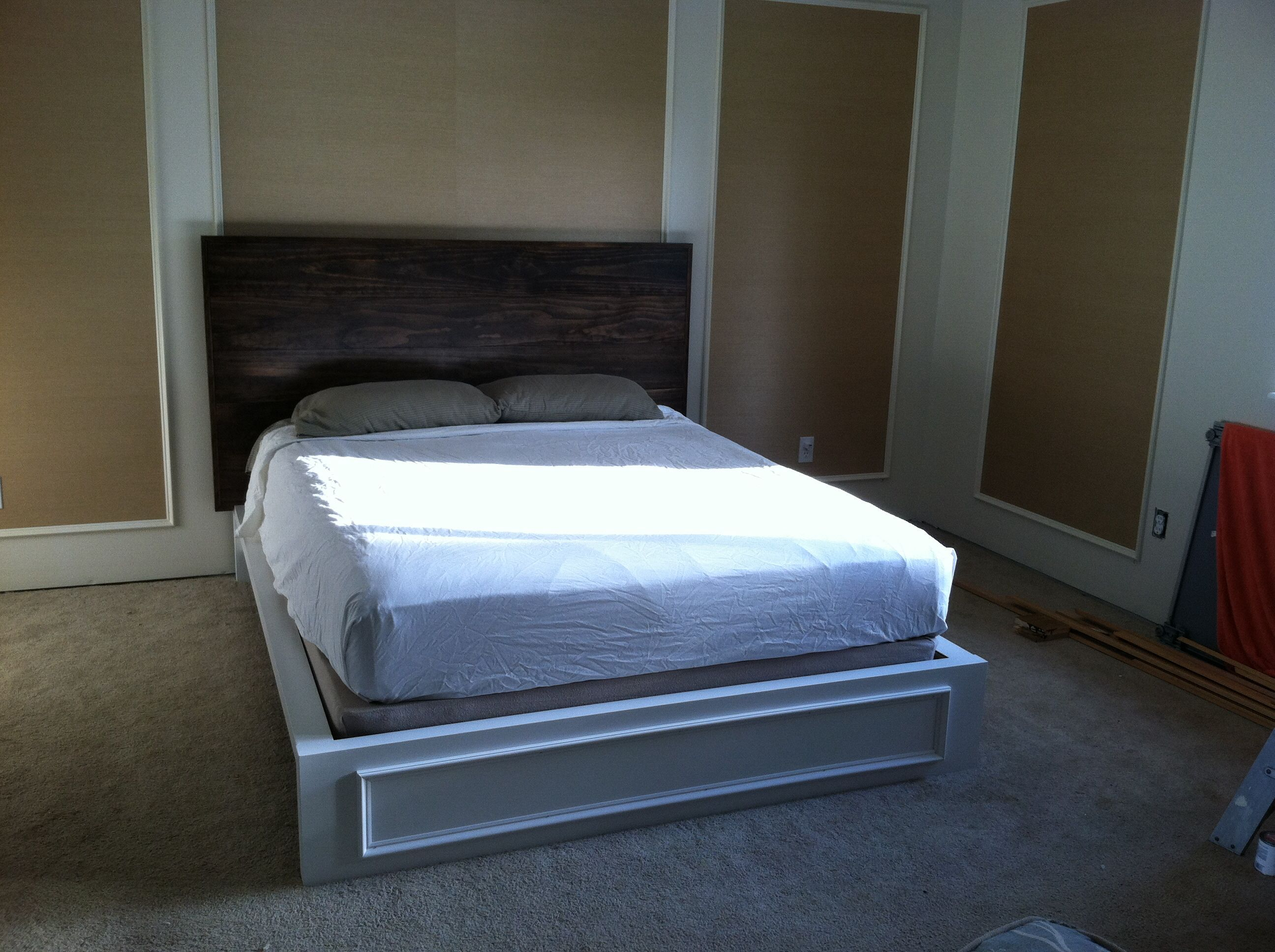 Ikea malm bed hacked ikea pinterest ikea malm bed for Malm kommode weiay