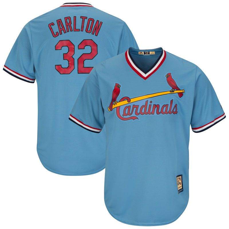 ff02ec7f Steve Carlton St. Louis Cardinals Majestic Cooperstown Collection ...