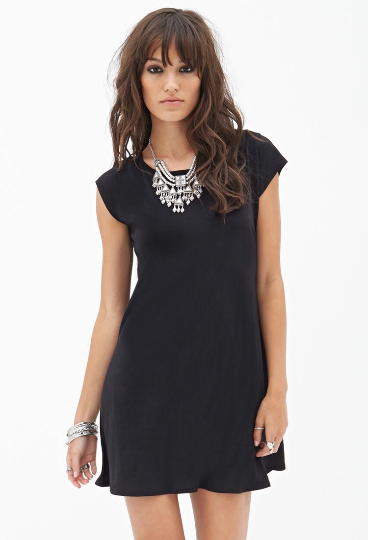 Shortsleeve tshirt dress forever my style pinterest