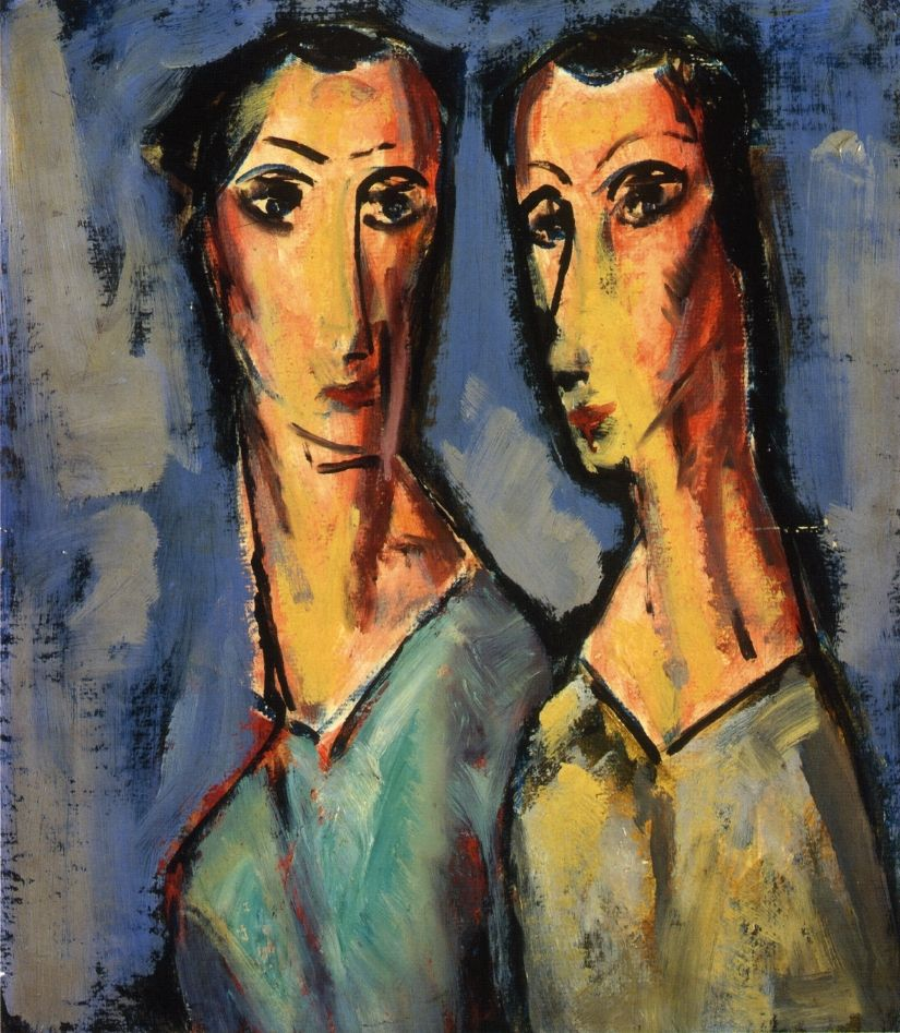 The Athenaeum - Two Heads (Alfred Henry Maurer - ) | ART: People and ...