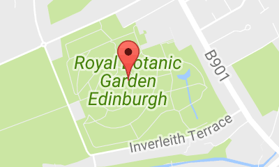 Map of Royal Botanic Garden Edinburgh Edinburgh Pinterest