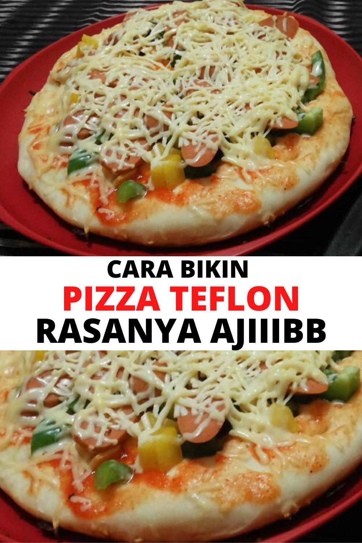 Pin On Cara Bikin Pizza Teflon