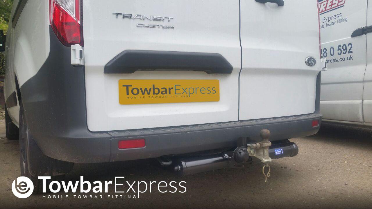 Ford Transit Custom Fixed Flangeball Towbar Http Www