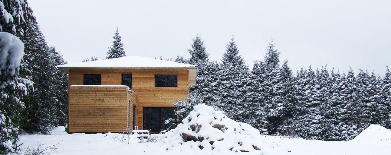 La maison passive est un moyen de réduire la consommation du0027énergie - consommation energetique d une maison