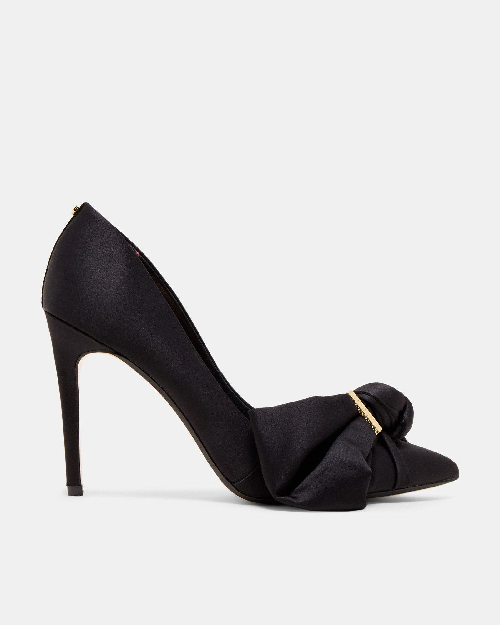 Ted Baker Bow detail satin courts