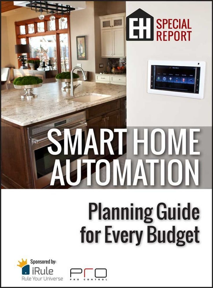 Smart home automation planning guide for every budget eh for Home automation plan