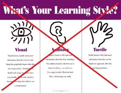 Learning-Styles-Posters; we need them all